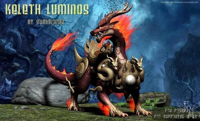 Keleth Luminos, by Summoner (freebie) by FantasiesRealmMarket