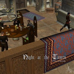 Night At The Tavern, by Aelin (exclusive) by FantasiesRealmMarket