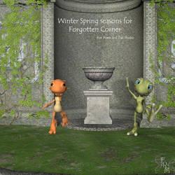 Seasons for Forgotten Corner Winter and Spring by FantasiesRealmMarket
