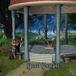 Heart Temple, by Aelin (exclusive) by FantasiesRealmMarket