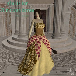 Noble for Almirena dress, by Aelin (exclusive) by FantasiesRealmMarket