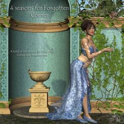 Seasons for Forgotten Corner: 4 Season Bundle by FantasiesRealmMarket