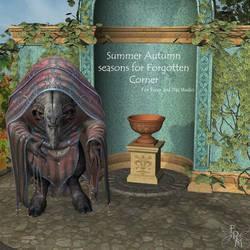 Seasons for Forgotten Corner, Summer and Autumn by FantasiesRealmMarket