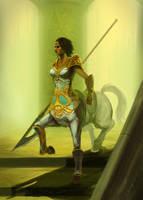 Centaur token 2 by WandererLink