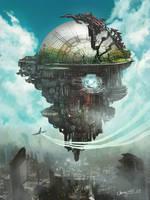 City in the sky by WandererLink