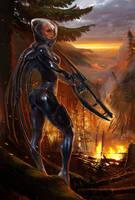Alien Hunter 2 by Den3221