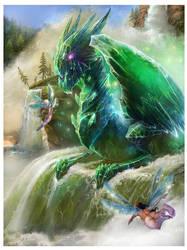 Crystal dragon by Den3221