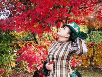 Red Autumn by Schlangenschatten