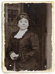 Victorian Dress close up - Vintage by Schlangenschatten