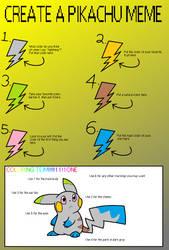 Pikachu Meme!!! :D by wolfsrock777