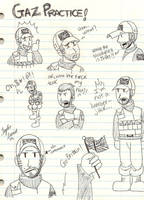 COD: Gaz Doodles by chocolatetater-tot