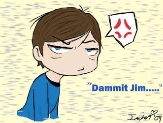 McCoy is Grumpy..... by Iziza666