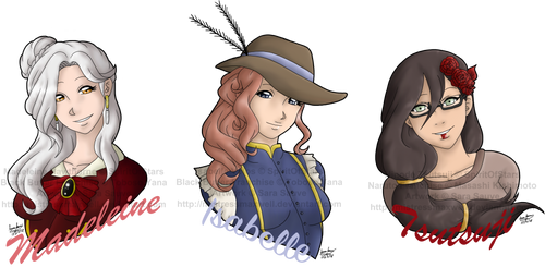 Art Slave Auctions Part 3 - Headshots For SOS by mistressmaxwell