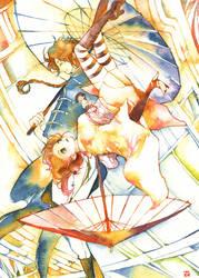 Gintama: Yato brothers by muttiy
