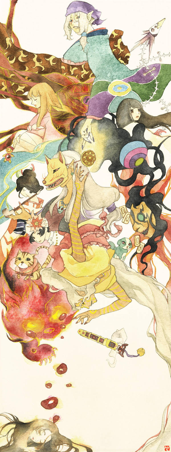 The world of Mononoke by muttiy