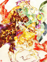 Mononoke: Double Kusuriuri by muttiy
