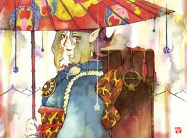Mononoke: Kusuriuri by muttiy