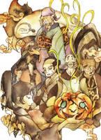 Mononoke: Halloween by muttiy