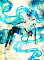 VOCALOID: Miku Append by muttiy