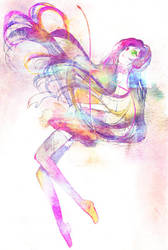 Painted: Hatsune Miku by muttiy