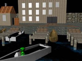Docks by ender-pontius