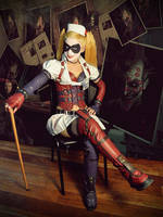 Harley Quinn Arkham Asylum by AnaSBertola