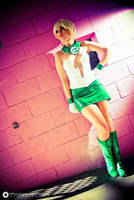 Vinil Corset - Arisia from Green Lantern by AnaSBertola
