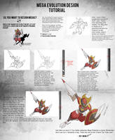 Mega Evolution Design Tutorial by rey-menn