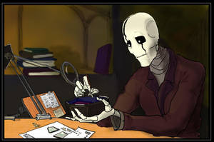Gaster Practice 7 by LucrataNexarii