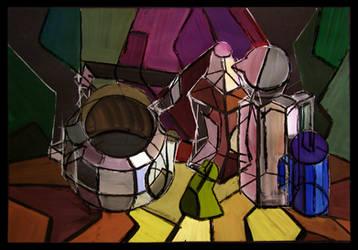 Cubism three by swat1