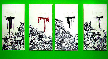 DEATHbyDEsign K7isDEAd canvas by Phomer