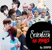 SEVENTEEN Pack PNG // COUPLES by KpopVN