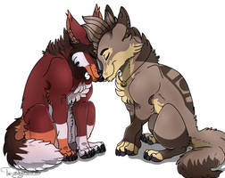 ::Wolf love (promotion):: by The-redmund-shou