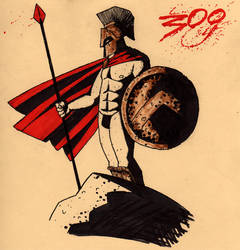 Leonidas by Kid-With-The-Hat