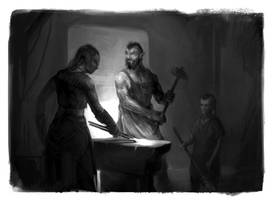 Of Orcs and their kids by ksenia-z