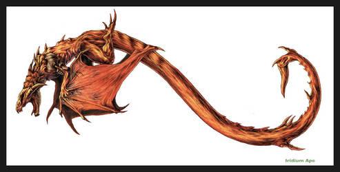 Infinity Dragon by iridiumape
