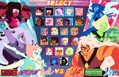 SU Choose Your Fighter by whinges