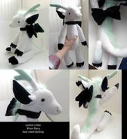 custom dragon critter plushie by gurliebot