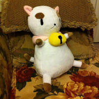 Puppycat plush by gurliebot