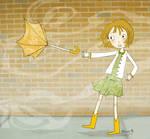 fly away umbrella by gurliebot