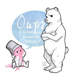 Oups : l'ourson qui faisait des betises by Mymie-chan