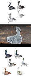 Geese by rosanevarez