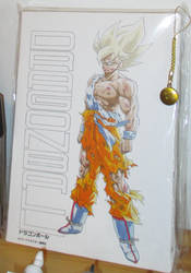Dragonball art board (Shounen Jump 50 merchandise) by methpring