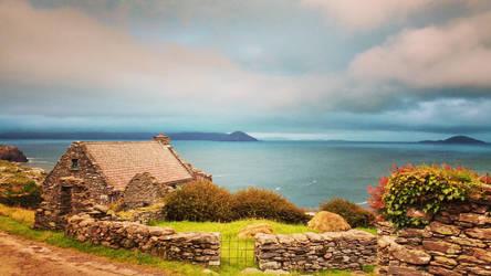 Ireland cottage by clalepa