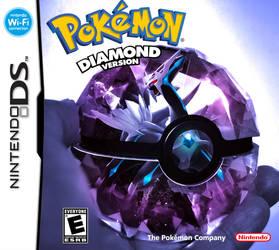 Pokemon Diamond by wazzy88