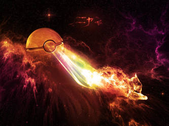 The Pokeball of Nyan Cat by wazzy88