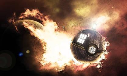 The TARDIS Pokeball by wazzy88