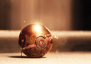Steampunk Pokeball by wazzy88