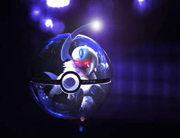 The Pokeball of Absol by wazzy88