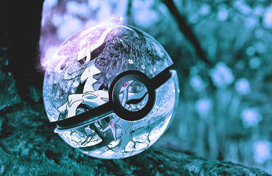 Arceus pokeball by wazzy88